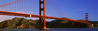 San Francisco Landmark Photograph - Golden Gate Bridge, San Francisco by Panoramic Images