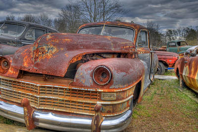 Photograph - Graveyard Cars by Willie Harper