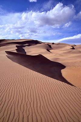 Photograph - Great Sand Dunes by Ray Mathis