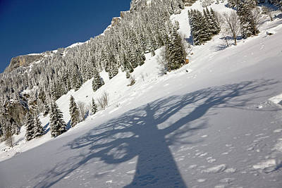 Bernese Photograph - Griesalp And Steineberg In Deep Snow by Martin Zwick