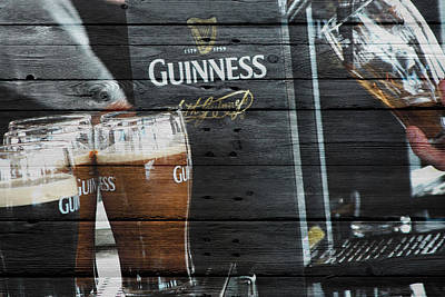 Photograph - Guinness by Joe Hamilton