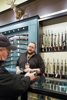 Gun Store Art Print