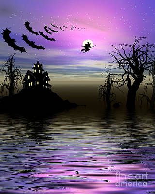 Featured Tapestry Designs - Halloween Scene by Indian Summer