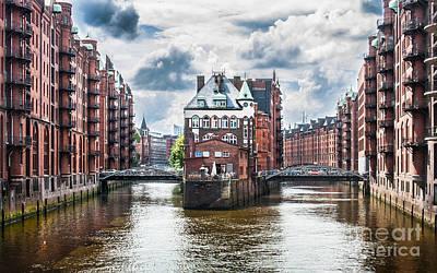 Door Locks And Handles - Hamburg Speicherstadt by JR Photography
