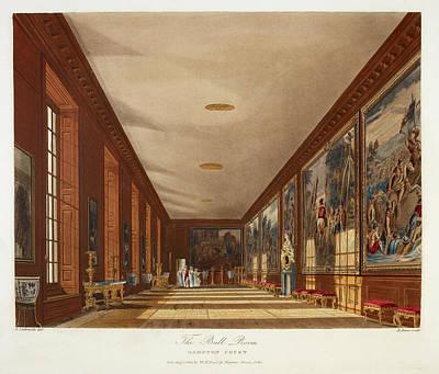 Hamptons Photograph - Hampton Court by British Library