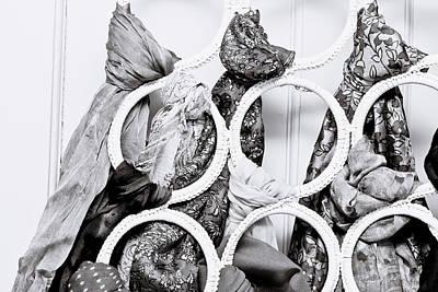 Hijab Fashion Photograph - Hanging Scarfs by Tom Gowanlock