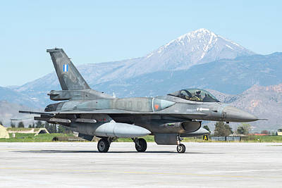 Photograph - Hellenic Air Force F-16c Block 52 by Daniele Faccioli