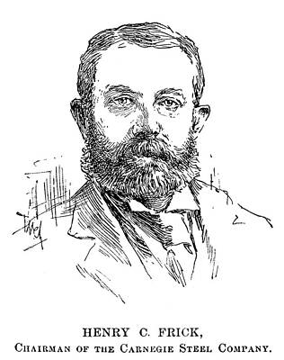Clay Drawing - Henry Clay Frick (1849-1919) by Granger