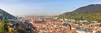 Rooftop Photograph - High Angle View Of A City by Panoramic Images