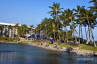 Roaring Red - Hilton Waikoloa Village by Jason O Watson