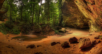 Photograph - Hocking Hills State Park by Walt Sterneman