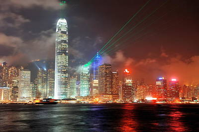 Photograph - Hong Kong by Songquan Deng
