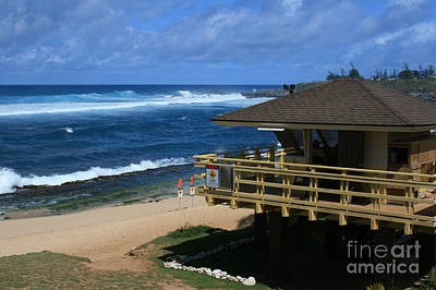Digital Art - Hookipa Beach Maui North Shore Hawaii by Sharon Mau