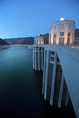 Hydro Wall Art - Photograph - Hoover Dam by Jim West