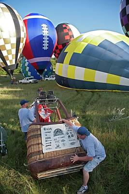 Hot Air Balloon Photograph - Hot Air Balloon Championships by Jim West
