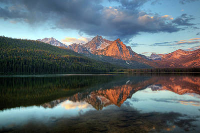 Idaho, Sawtooth National Recreation Art Print by Jamie and Judy Wild