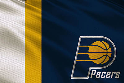 Indiana Pacers Photograph - Indiana Pacers Uniform by Joe Hamilton
