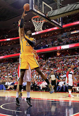 Photograph - Indiana Pacers V Washington Wizards - by Rob Carr
