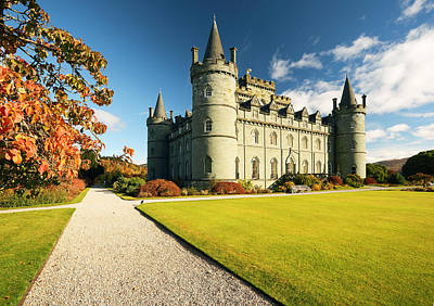 Photograph - Inveraray Castle by Grant Glendinning