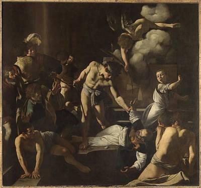 Italy, Lazio, Rome, San Luigi Dei Art Print by Everett