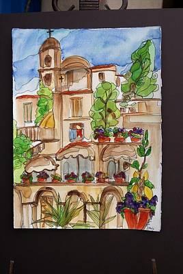 Italy  Art Print by Michelle Gonzalez