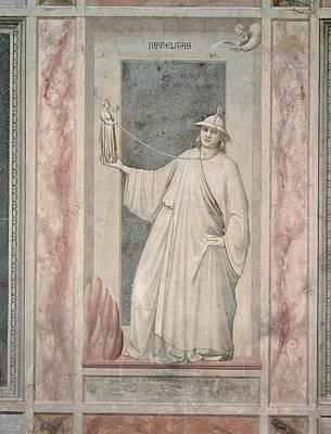 Infidelity Photograph - Italy, Veneto, Padua, Scrovegni Chapel by Everett