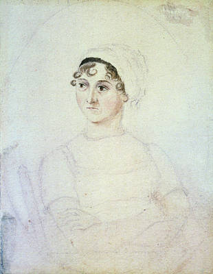 Drawing - Jane Austen (1775-1817) by Granger