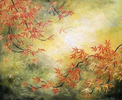 Japanese Maple Tree Art Print by Tomoko Koyama