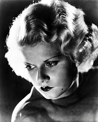 Jean Harlow Art Print by Silver Screen