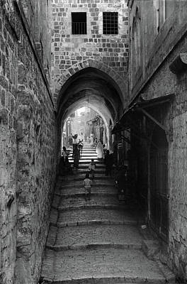 Photograph - Jerusalem Via Dolorosa by Granger