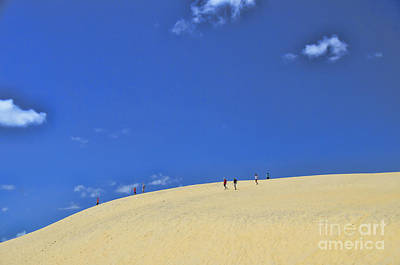 Photograph - Jockey's Ridge State Park by Allen Beatty