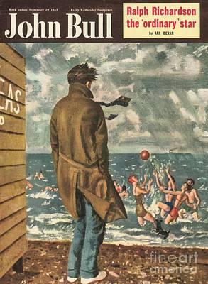 John Bull 1950s Uk Holidays Seasons Art Print by The Advertising Archives