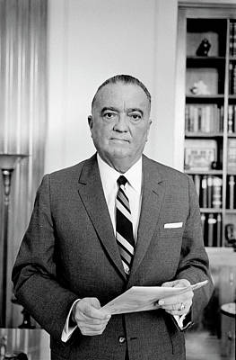 Photograph - John Edgar Hoover (1895-1972) by Granger