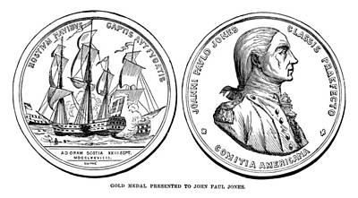John Paul Jones (1747-1792) Art Print