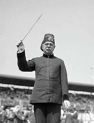 Marching Band Photograph - John Philip Sousa (1854-1932) by Granger
