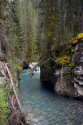 Valentines Day - Johnston Canyon in Banff by Yue Wang
