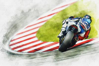 Jorge Lorenzo - Team Yamaha Racing Original by Don Kuing