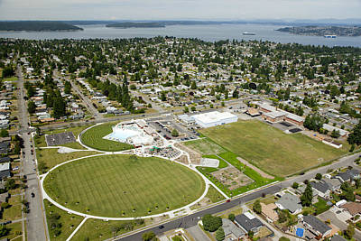 Americas Playground Photograph - Kandle Park, Tacoma by Andrew Buchanan/SLP