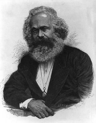 Marx Digital Art - Karl Marx by Unknown