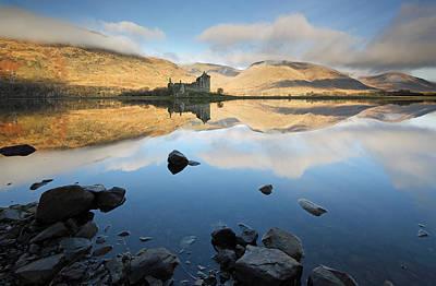 Castle Photograph - Kilchurn Castle by Grant Glendinning