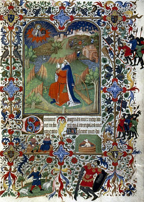 1420 Painting - King David by Granger