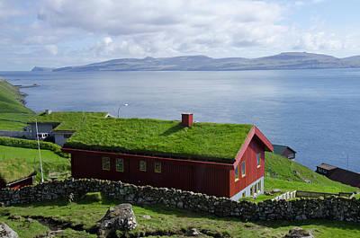 Sod Photograph - Kingdom Of Denmark, Faroe Islands by Cindy Miller Hopkins