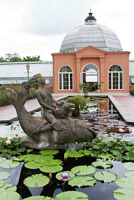 Two Sisters Photograph - La, New Orleans, New Orleans Botanical by Jamie and Judy Wild