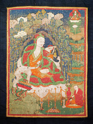 Ladakh, India Pre-17th Century Art Print by Jaina Mishra