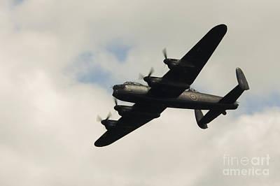 Lancaster Bomber Art Print by J Biggadike