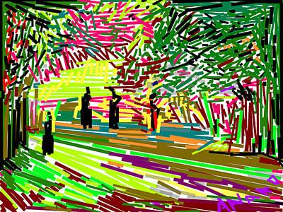 Landscape-1 Art Print