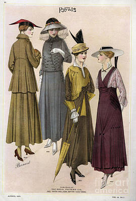 Le Costume Royal 1915 1910s Usa  Cc Art Print by The Advertising Archives