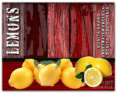 Lemon Farm Art Print