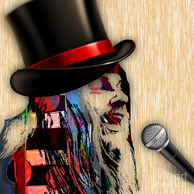 Piano Mixed Media - Leon Russell Collection by Marvin Blaine