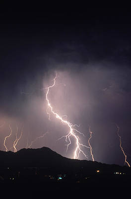 Photograph - Lightning by Ralph Wetmore